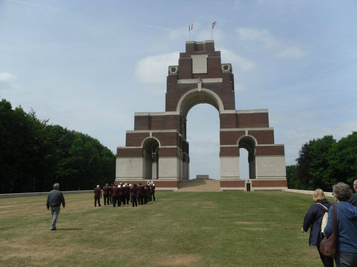Thiepval approach 5