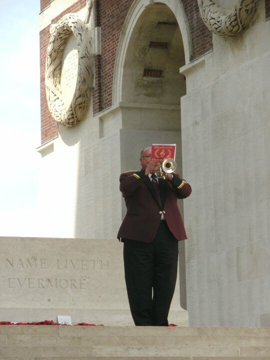 Thiepval last post Steve